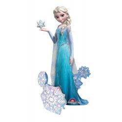 Ballon geant aluminium La Reine des Neiges - cm