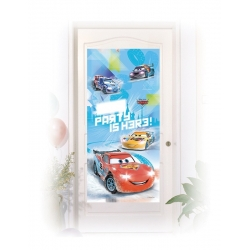 Decoration de porte Cars Ice Racers™  x  cm