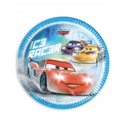 Assiettes en carton Cars Ice™  cm