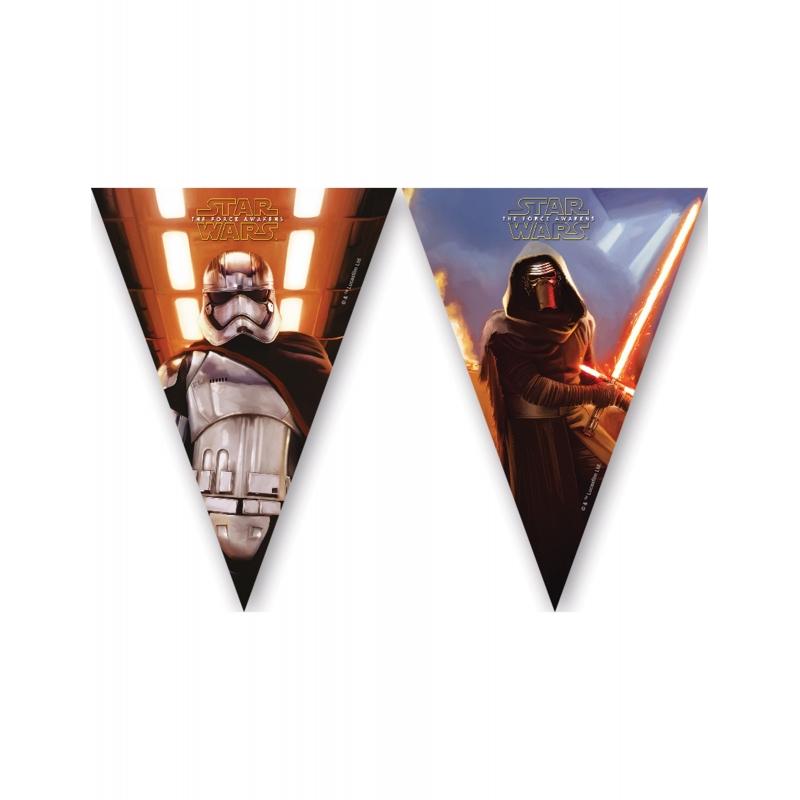 Guirlande fanions Star Wars VII