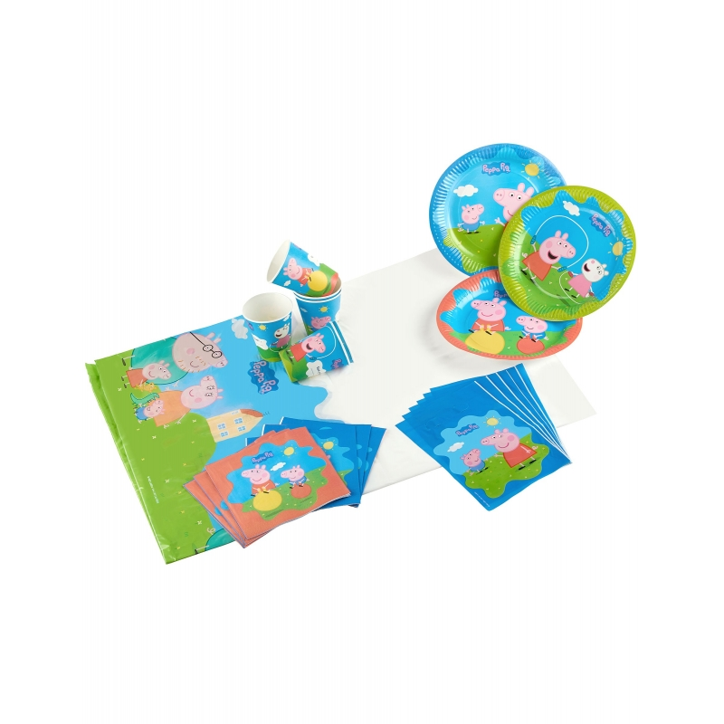 Kit d anniversaire Peppa Pig -  piees