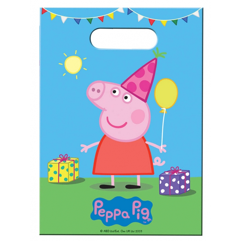 Sacs de fête Peppa Pig
