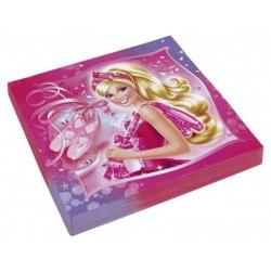 Serviettes en papier Barbie™  x  cm