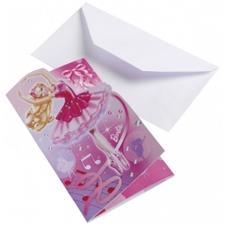 cartes d invitation Barbie