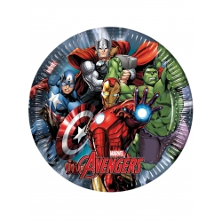Assiettes en carton Avengers Power™  cm