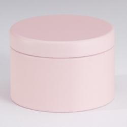 Boites metalliques rose