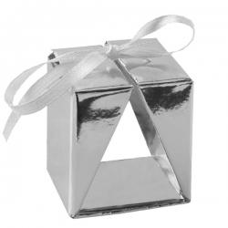 4 Boîtes cadeaux Argent