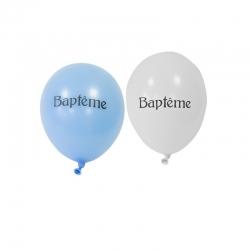 8 ballons Baptême