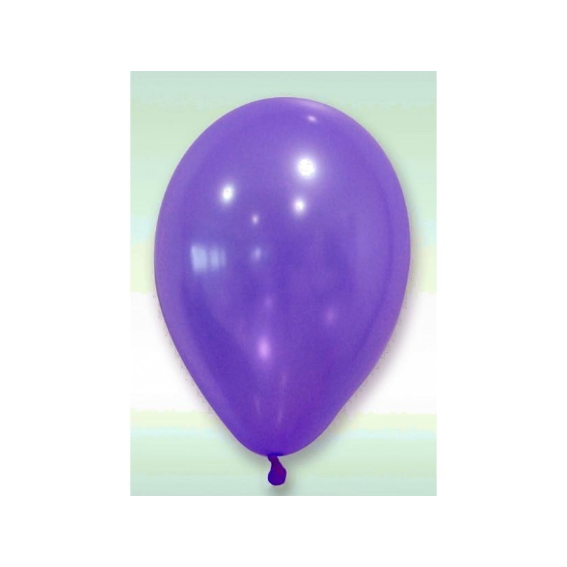Ballon nacre diam. 30 cm (x 24) Prune