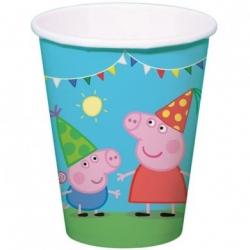 8 Gobelets Peppa Pig