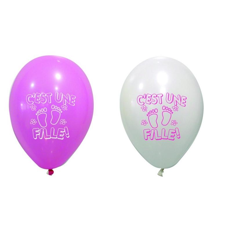 """Ballons """"C est une fille"""""""