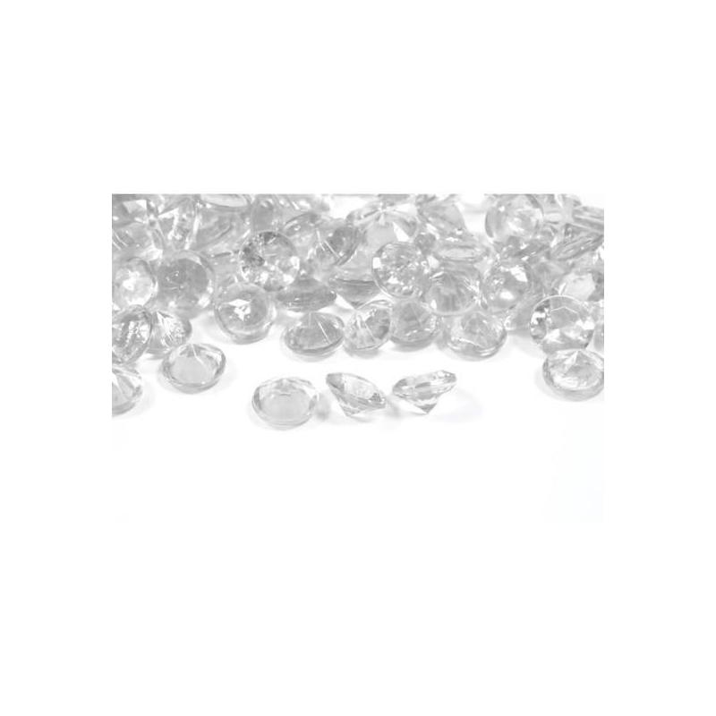 Diamant déco transparent