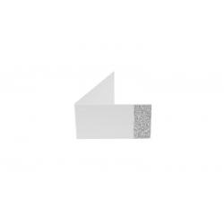 Étiquettes unie pailletee X Argent