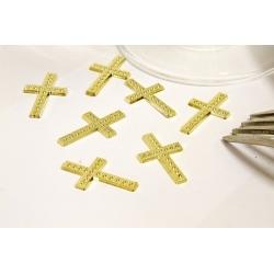 10 croix dorées