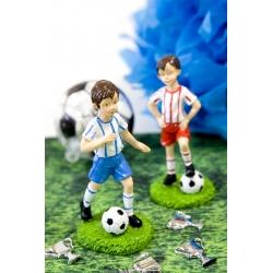 Joueur de foot en résine