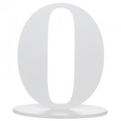 Marque table chiffre zéro