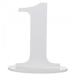 Marque table chiffre 1