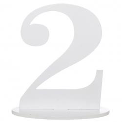 Marque table chiffre 2