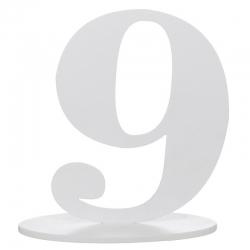 Marque place chiffre 9
