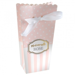 "Boite Baby Shower ""Mademoiselle Rose""  piees"