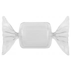 Boîte bonbon rectangulaire Transparent (Sachet de 4 pièces)