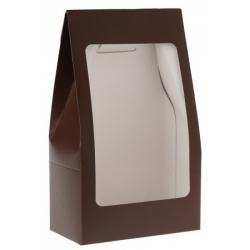 Pochette unie Chocolat Boîte de  piees
