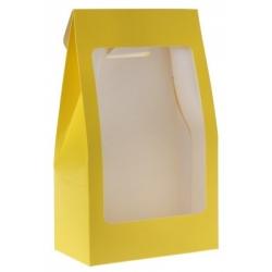 Pochette unie Jaune Boîte de  piees