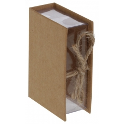 Boîte livre Kraft (Sachet de 4 pièces)