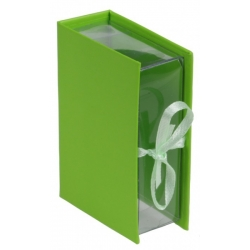 Boîte livre Vert Sachet de  piees