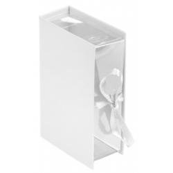 Boîte livre Blanc Sachet de  piees