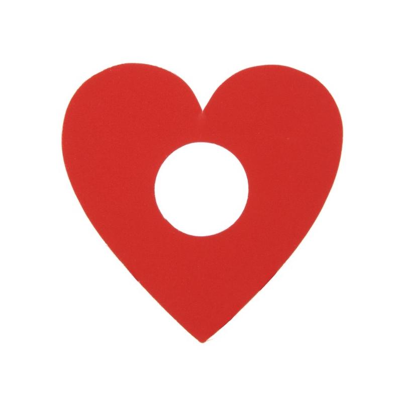 Marque-place coeur