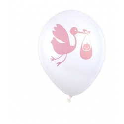 Ballon baby shower fille