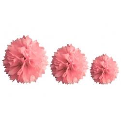 Decoration de salle en papier Rose