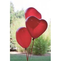 Ballon opaque en forme de coeur