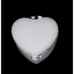 12 contenants cœur miroir