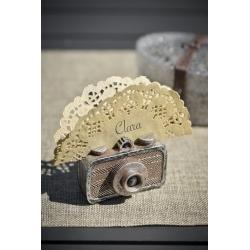Marque place appareil photo vintage