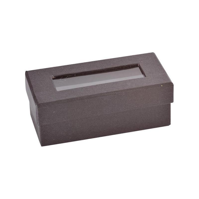 Boîte rectangulaire Noir Sachet de  piees