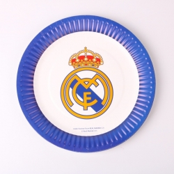 assiette anniversaire real madrid