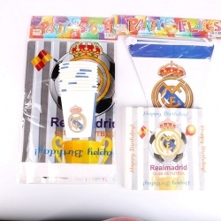 kit anniversaire real madrid