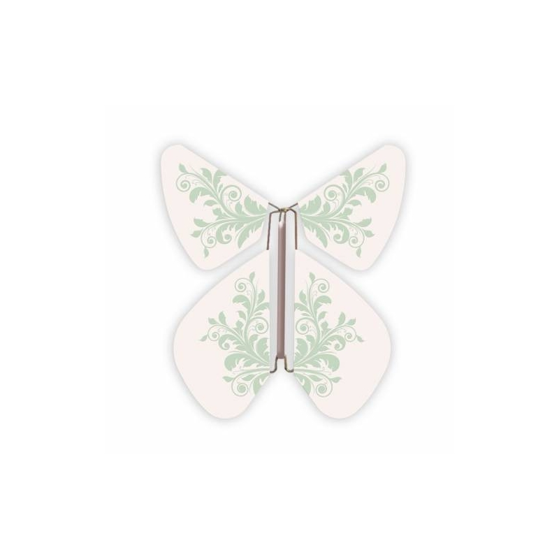 papillon green baroque flower