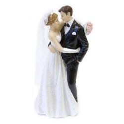 Figurine couple maries valse