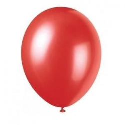 Ballon nacre  Rouge