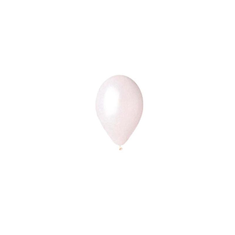 Ballon nacre  Blanc