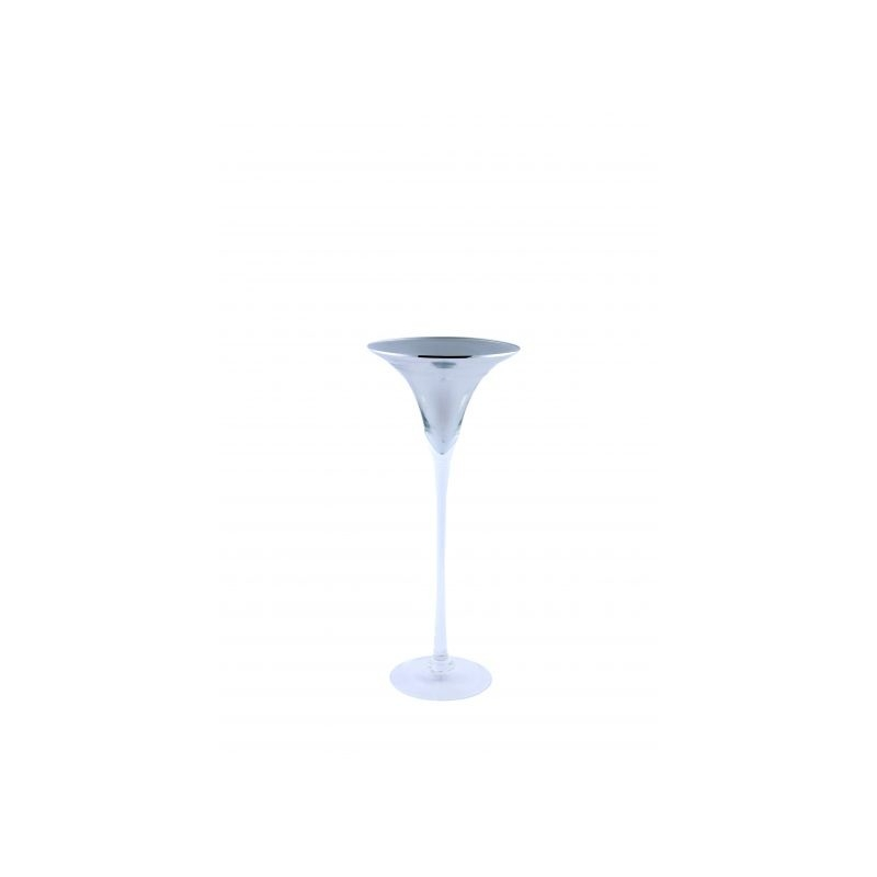 Location Vase Martini Silver