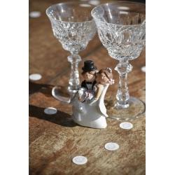 Figurine Mrs & Mr Jeunes mariés