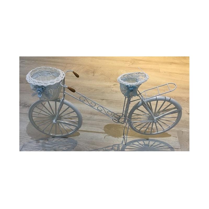 Vélo décoration blanc