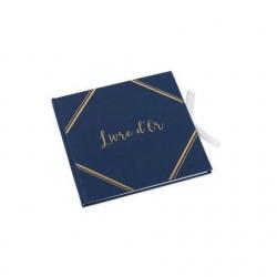 Livre d'or Bleu marine