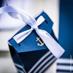 10 boites Ancre Or et Marinière