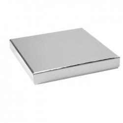 Boîte carrée Argent