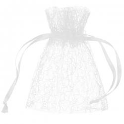 Sachet voile Blanc (Sachet de 6 pièces)